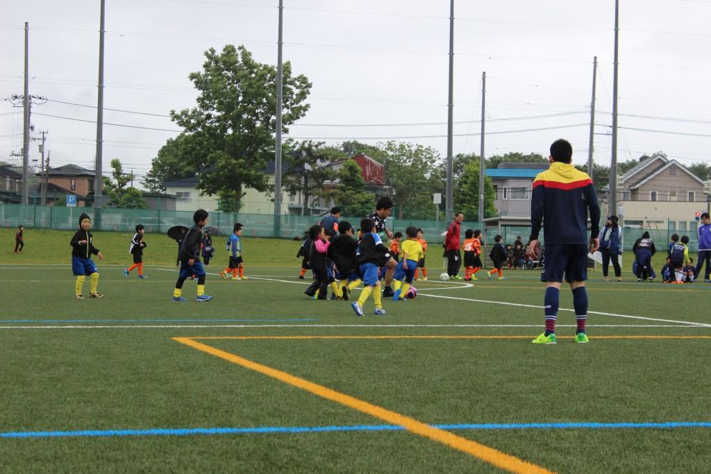 エスポラーダ北海道の選手とのゲーム